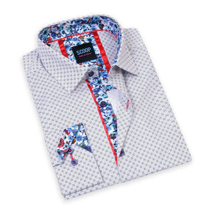 GAVIN SEA PRINTED BUTTON UP SHIRT