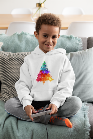 Christmas Tree Kids Hoodie from Vluxe by Lucky Nahum
