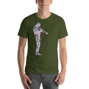 Miles Away VLK803A Short-Sleeve Unisex Tee Shirt