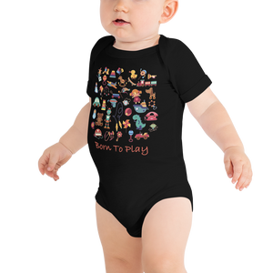 Born To Play Onesie from Vluxe by Lucky Nahum