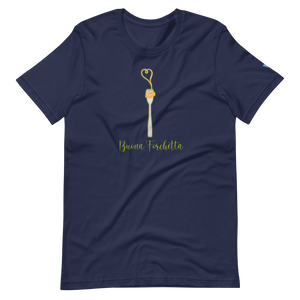 Buona Forchetta Short-Sleeve Unisex T-Shirt from Vluxe by Lucky Nahum