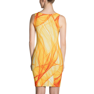AMALFI SUNSET DRESS