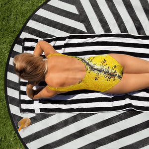 SUN DRENCHED ONE-PIECE SWIMSUIT