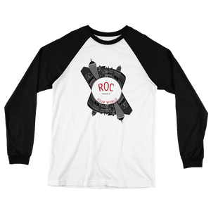 ROC Your World VLK901 Long Sleeve Baseball Tee Shirt