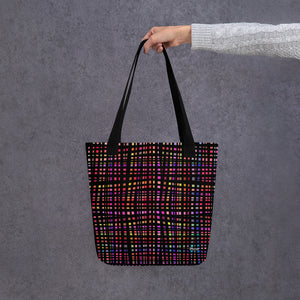 Checked Out Tote Bag from Vluxe by Lucky Nahum
