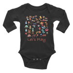 Born to Play Infant Long Sleeve Bodysuit