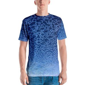 Water Vluxe All-Over Print Men's Crew Neck Tee