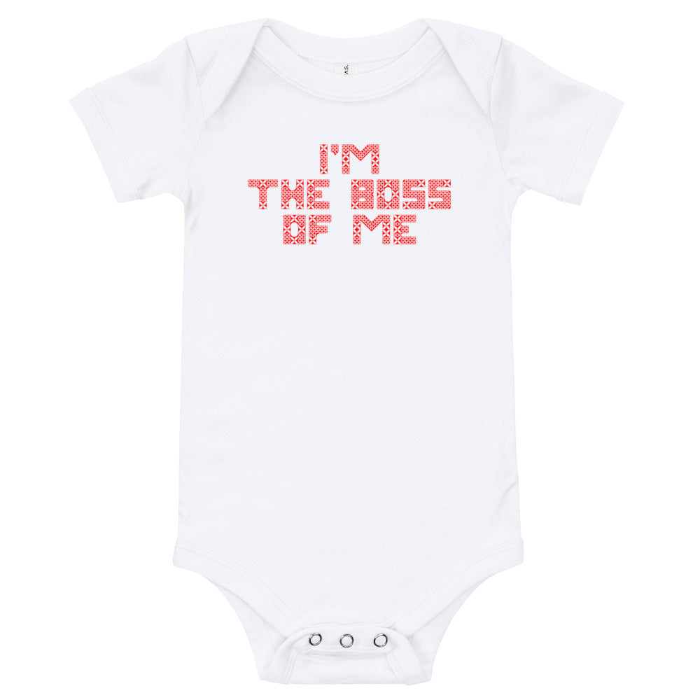 I'M THE BOSS ONESIE