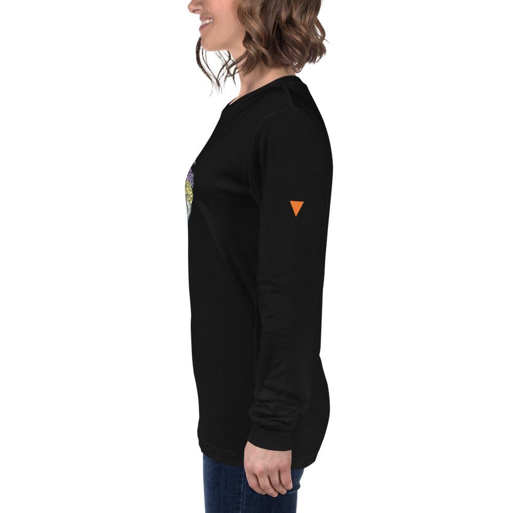 Rebirth Unisex Long Sleeve Tee from Vluxe by Lucky Nahum