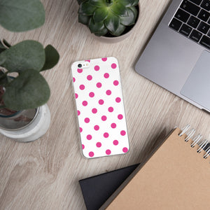 DaDOT iPhone Case Fuschia