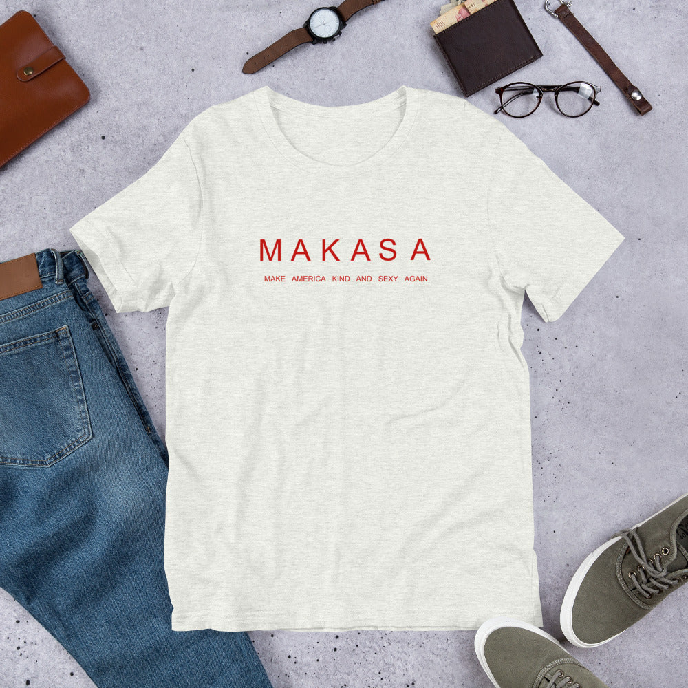MAKASA Short-Sleeve Unisex T-Shirt