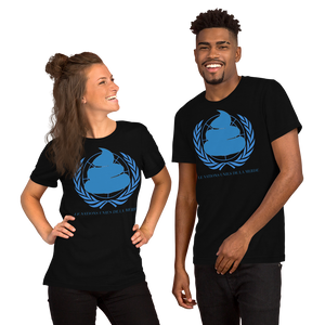 United Nations Bio Waste Short-Sleeve Unisex Tee Shirt