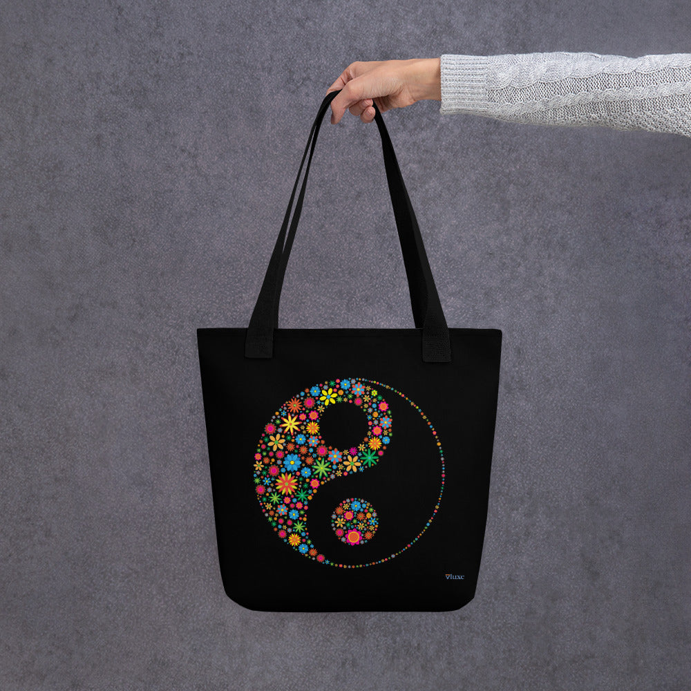 Flower Power Tote Bag from Vluxe by Lucky Nahum