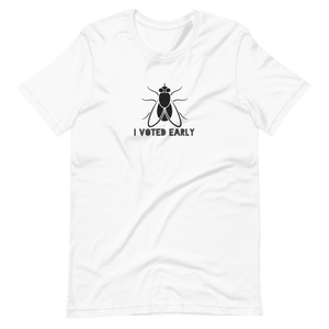 I Voted Early Fly Short-Sleeve Unisex T-Shirt from Vluxe by Lucky Nahum