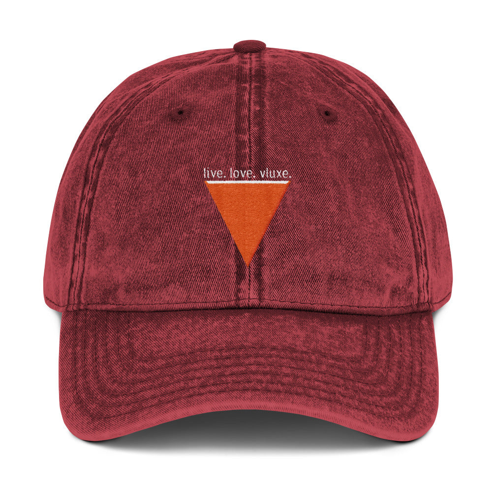 Choose Love Vintage Cotton Twill Cap
