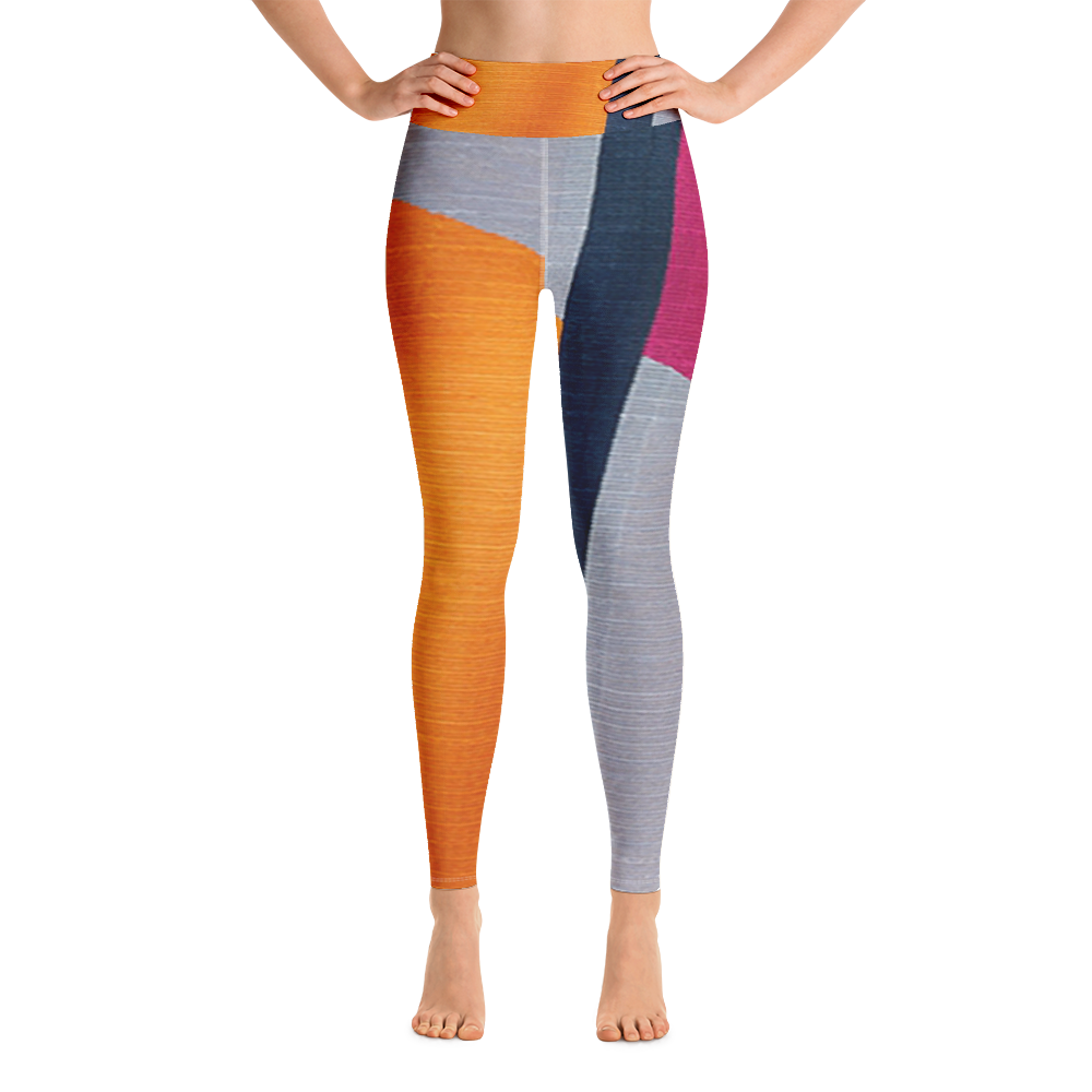 COLOR BLOCKED Yoga Leggings