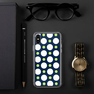 DaDOT .003 iPhone Case Navy/Lime