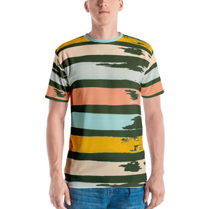 Brush Strokes VLK905 Men's Tee Crew