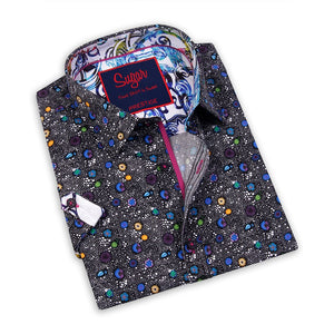 Reef-S Caviar Sugar Short Sleeve Printed Shirt