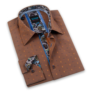 Rocco Amber Long Sleeve Button Up Shirt