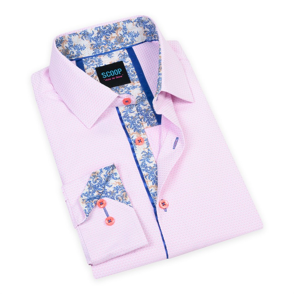 Steve Rose Scoop Printed Shirt