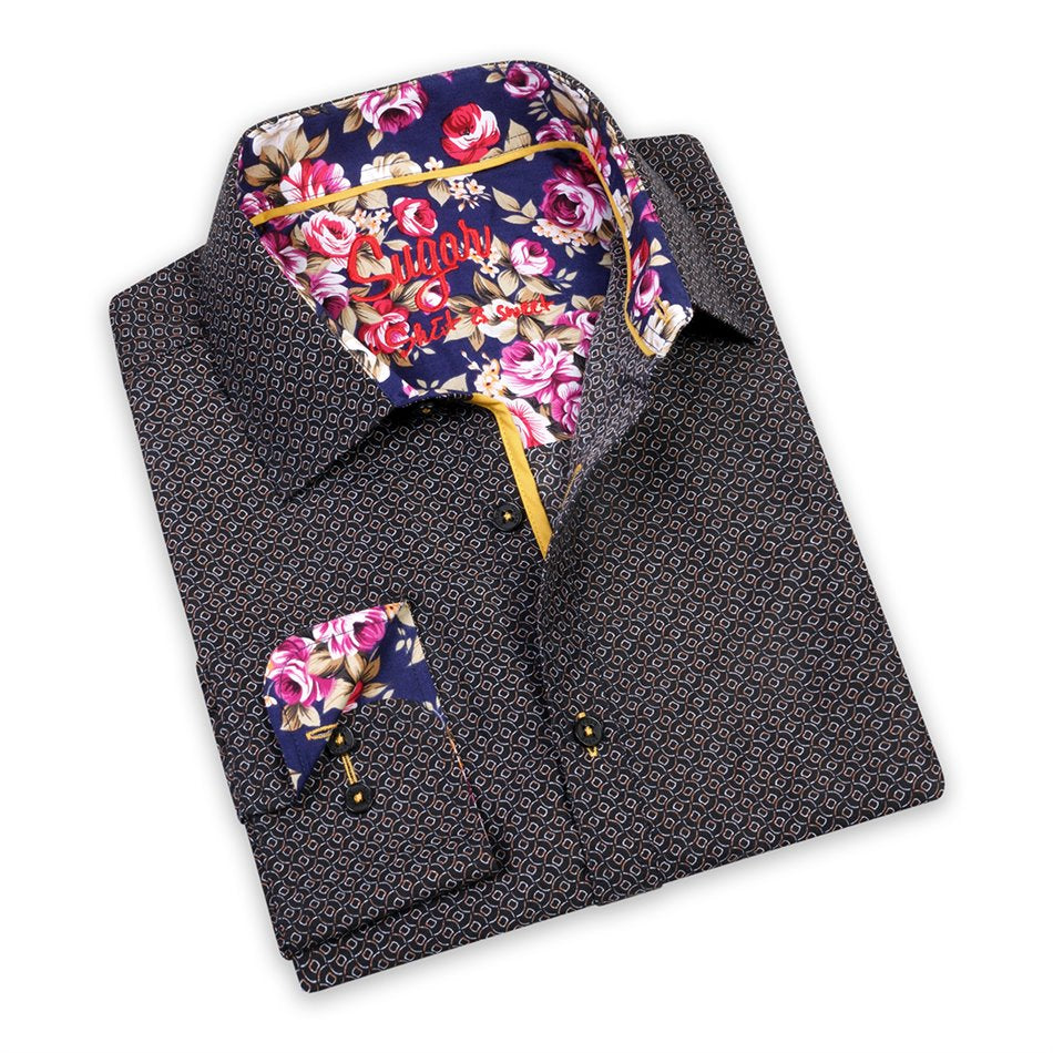 Willy Black Sugar Printed Shirt