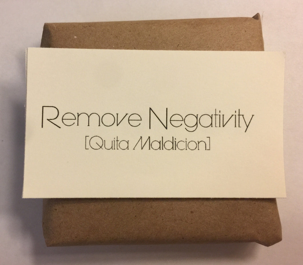 Remove Negative Energy soap - Satori Art Decor