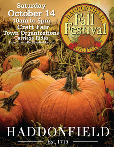 Haddonfield Fall Festival and Craft Show at Downton Haddonfield 10-14-2017