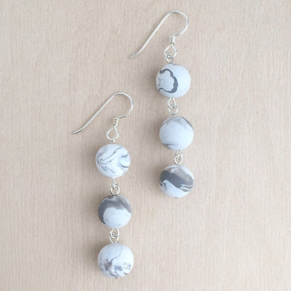 Bauble Drop Earrings + Cloud