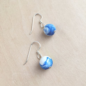 Bauble Earrings + Azure
