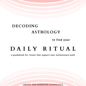 Decoding Astrology to find your Daily Ritual Guide