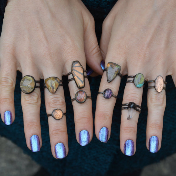 Gemstone Rings - Ready to Ship