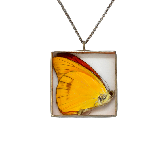 Butterfly Shadowbox Necklace {One of a Kind}