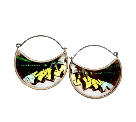 Endings = Beginnings Hoop Earrings