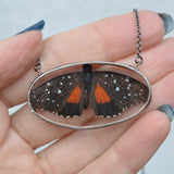 Butterfly In-Flight Shadowbox Necklace {One of a Kind}