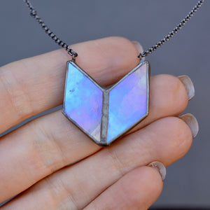SPECTRUM Collection - Diamond Alchemy LILAC Necklace