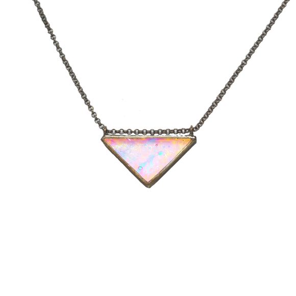 SPECTRUM - Classic Triangle Necklace