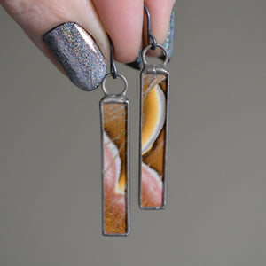 Moonscape Diptych Earrings {One of a Kind}