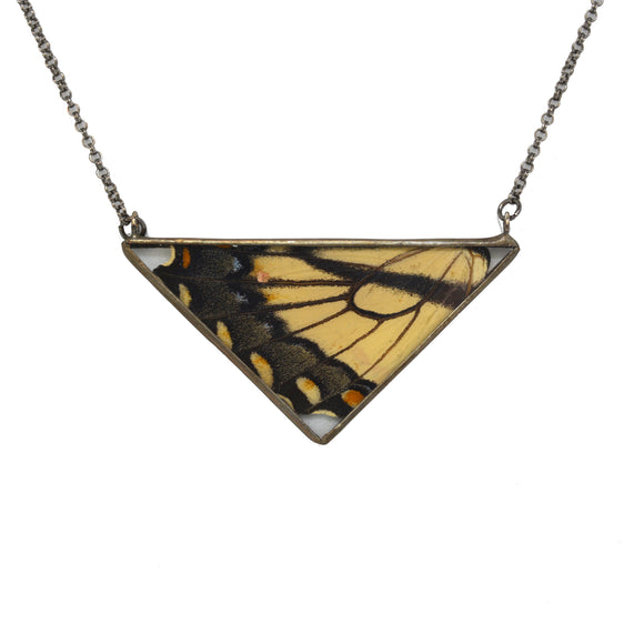 Eastern Tiger Swallowtail Necklace {One of a Kind}