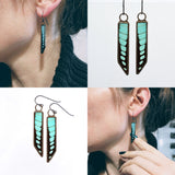 Bevel Earrings