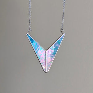 Spectrum Collection - Triangle Alchemy Necklace - Ready to Ship