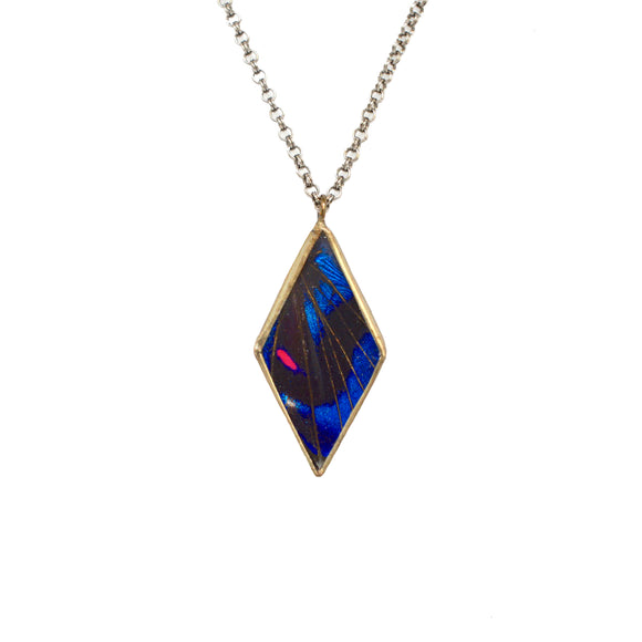 Jewel Blue Diamond Pendant {One of a Kind}