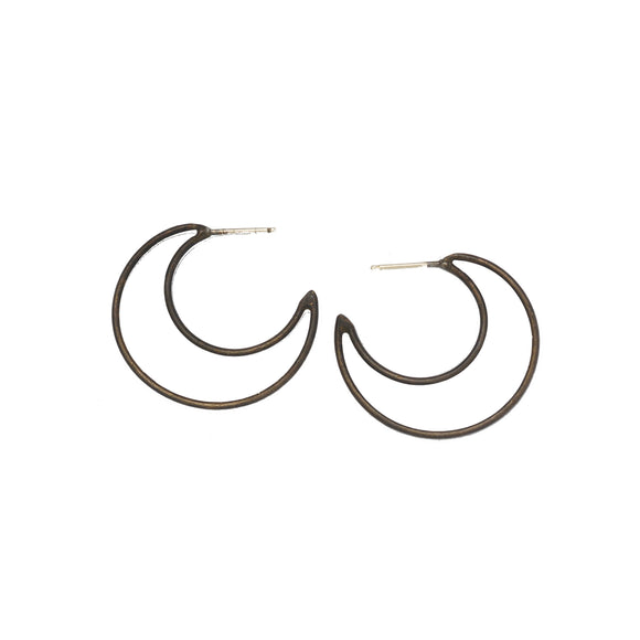 Point of Manifestation Hoop Earrings