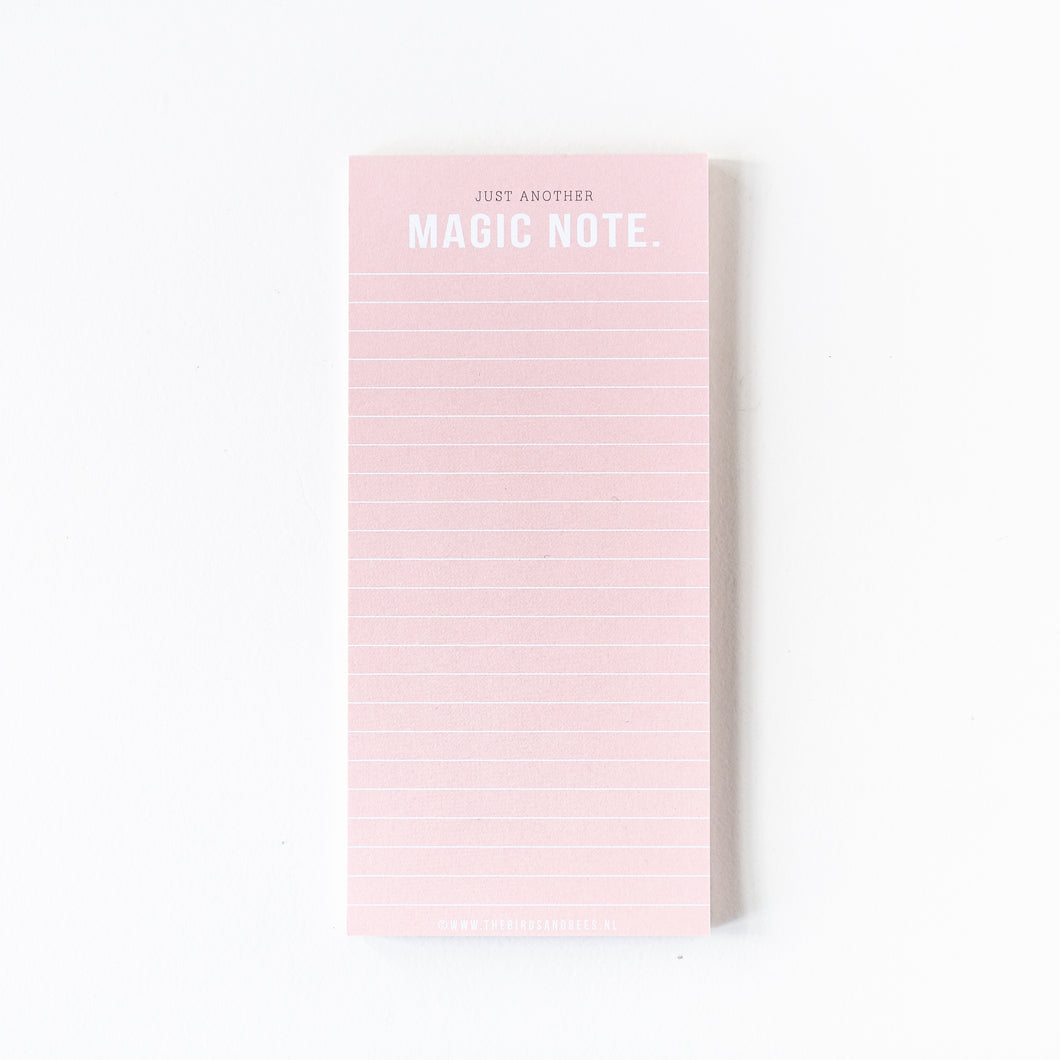Notepad 'Magic Note'