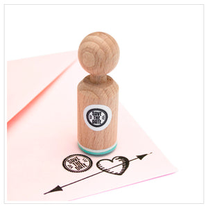 Mini Stempel 'Save the Date'