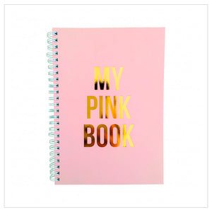 'My Pink Book' Notebook