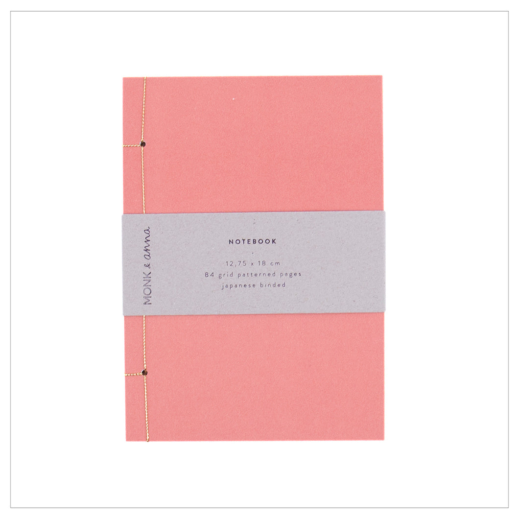 Notebook Japanese Binding - Rood