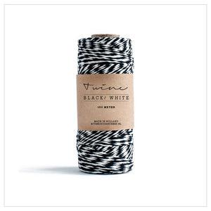 Black White Bakers Twine