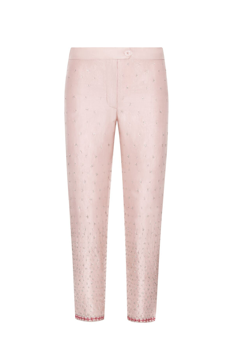 Lotus Shimmery Slim Trouser