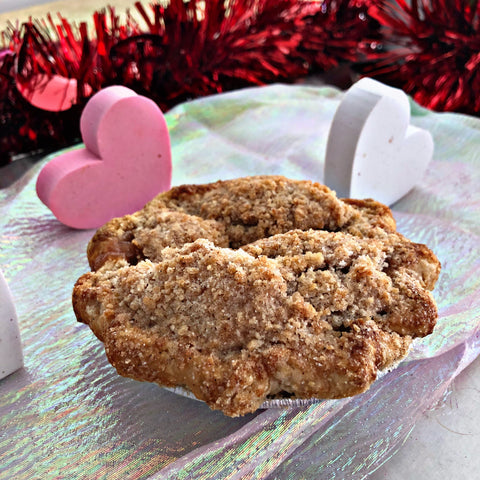 Mini Apple Crumb Pie